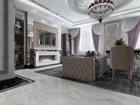 Дизайн-проект квартиры в Арт-Деко