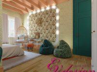 Дизайн интерьера коттеджа в современном стиле