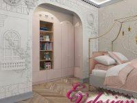 Дизайн интерьера коттеджа в Арт-Деко